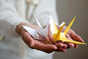 Бумажные журавлики – один из символов Японии