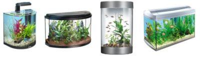 Выбираем форму аквариума